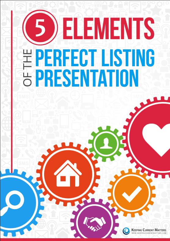 , Free Gift! 5 Elements To The Perfect Listing Presentation, MySMARTblog, MySMARTblog